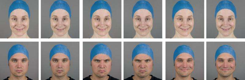 3D amplifies emotions evoked by facial expressions