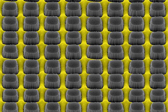 Nanostructured metal coatings let the light through for electronic devices