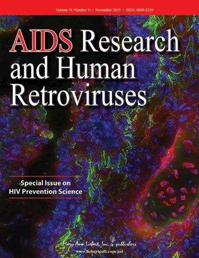 Progress toward preventing HIV highlighted in special issue of AIDS research and human retroviruses