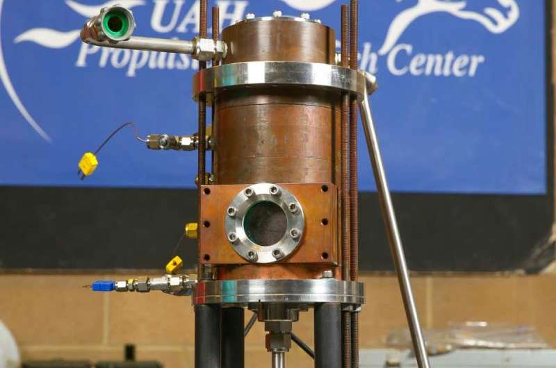 Student's research could hasten the dawn of hybrid rocket engines