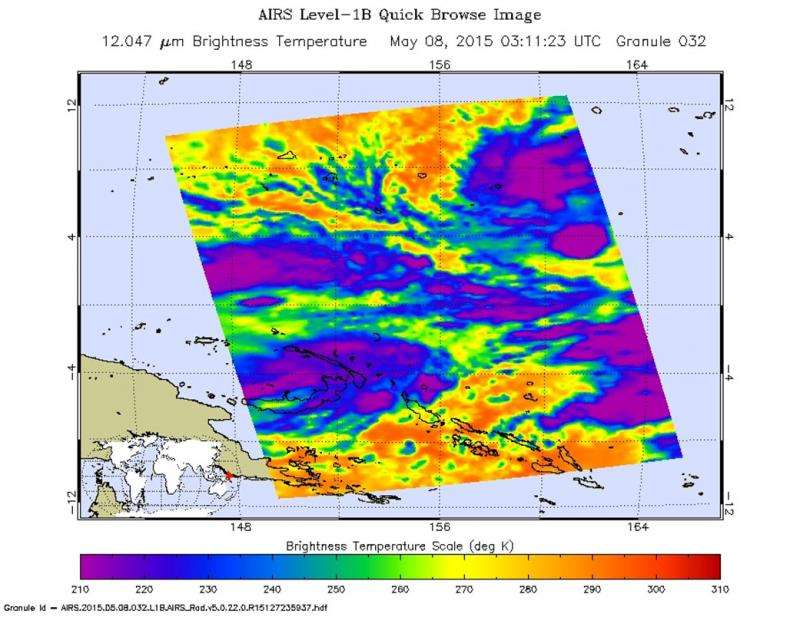 Tropical Depression 07W expected to intensify to typhoon