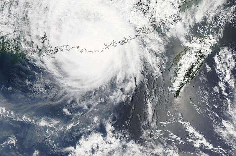 NASA sees Tropical Storm Linfa making landfall in southeastern China