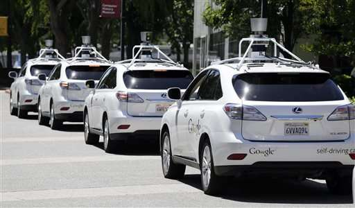 Google acknowledges 11 accidents with its self-driving cars