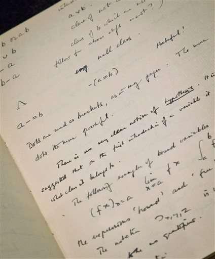 'Imitation Game' code breaker Turing's notes net $1 million