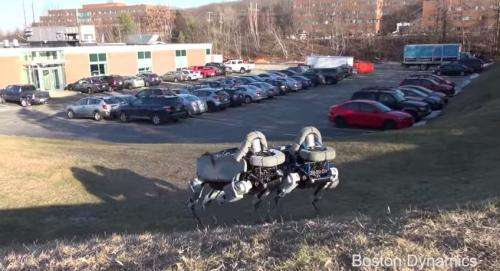 Boston Dynamics unveils latest robot quadruped 'Spot' (w/ Video)
