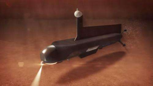 NASA unveils possible submarine design for exploring liquid methane seas on Titan (w/ Video)