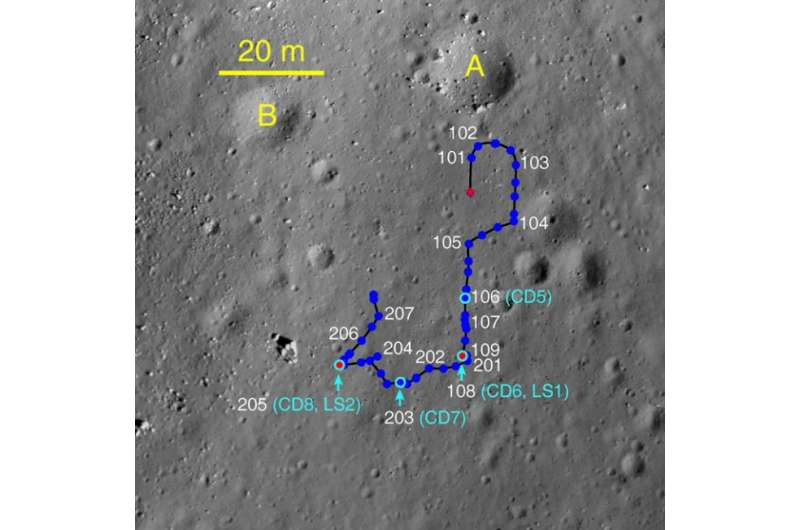 Immobilized Yutu rover still providing valuable lunar data