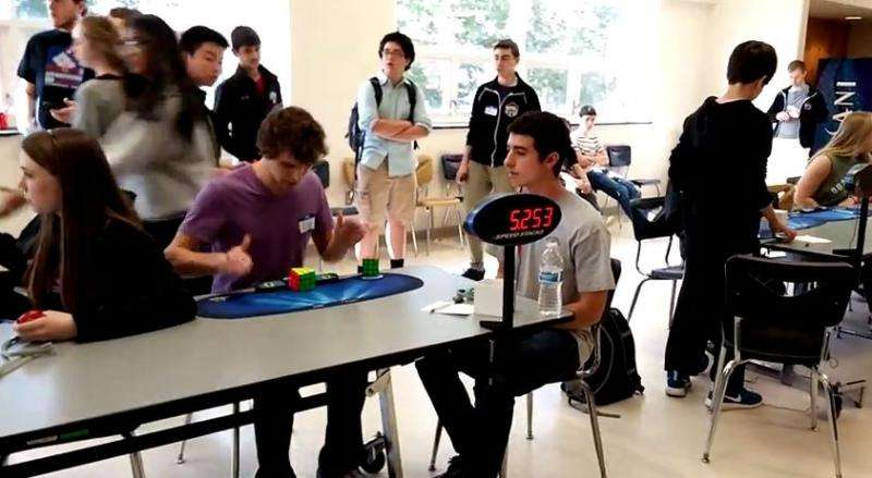 Collin Burns in 5.253 seconds sets Rubik's Cube time record (w/ Video)