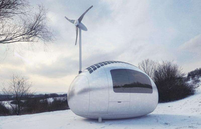 Architects to hatch Ecocapsule as low-energy house