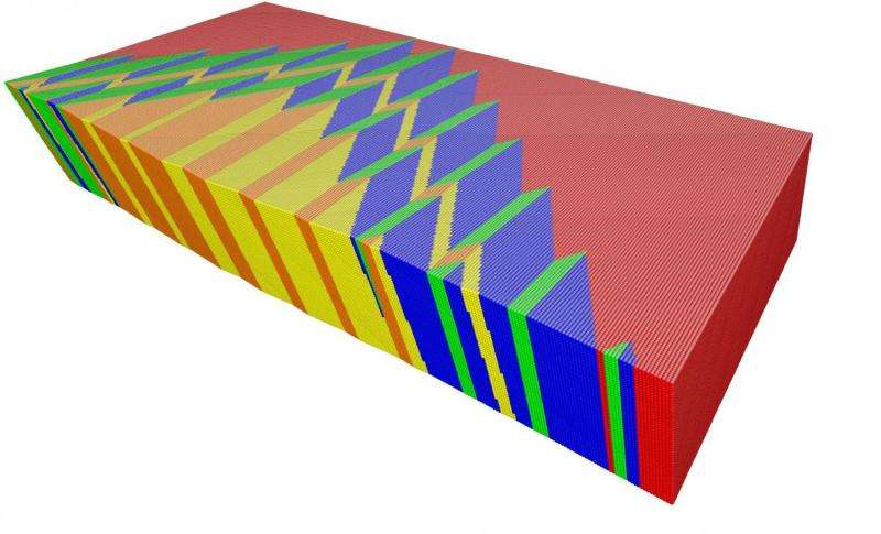 Memory shape alloy can be bent 10 million times and still snaps back