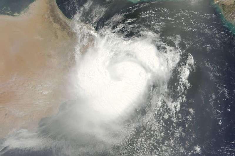 NASA satellite shows Tropical Cyclone Ashobaa approaching Oman