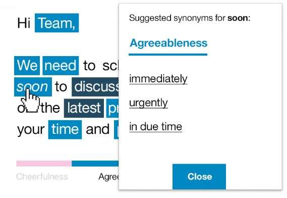 IBM Watson here to help you construct words you won't regret