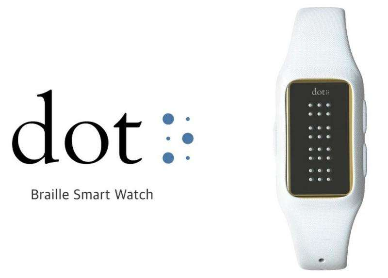 Startup team signals time for affordable smartwatch for blind