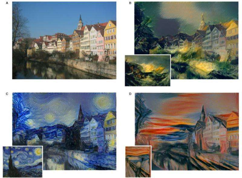 Neural algorithm gives photo masterpiece-style treatments