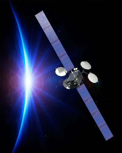 All-electric propulsion satellite by Boeing now fully operational