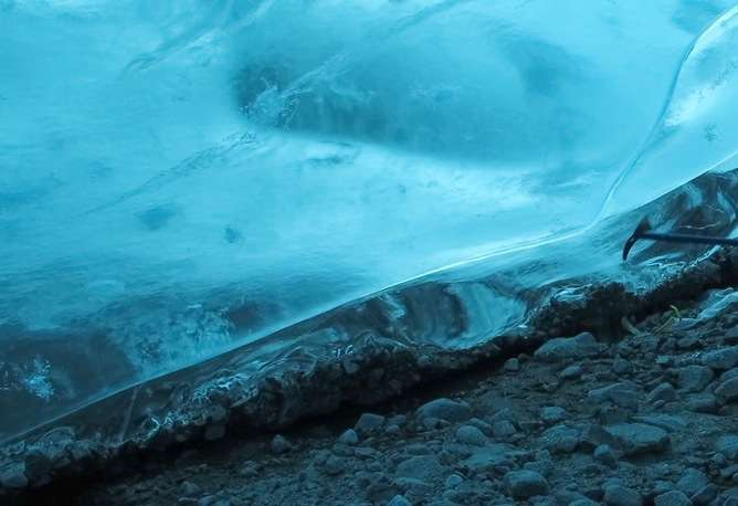 Ice 'lightning' may have helped life survive Snowball Earth