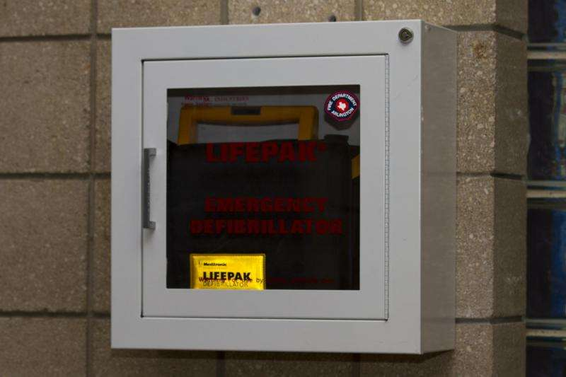 Sudden cardiac arrest? Can't find an AED? There may be an app for that