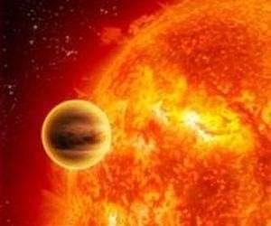 A hot Jupiter around a sun-like star