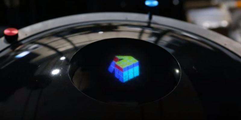 Team in South Korea focusing on tech to display color 3D hologram