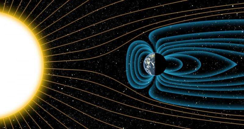 Researchers find that Earth's magnetic shield is much older than previously thought