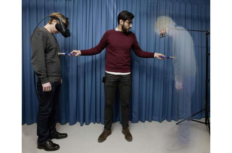 Scientists create the sensation of invisibility