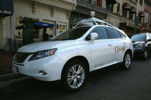 California law allows self-driving cars to operated on roads with speed limits of 35 mph or slower