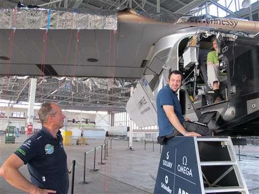 Solar plane pilots: Rapid climb, descent stressed batteries