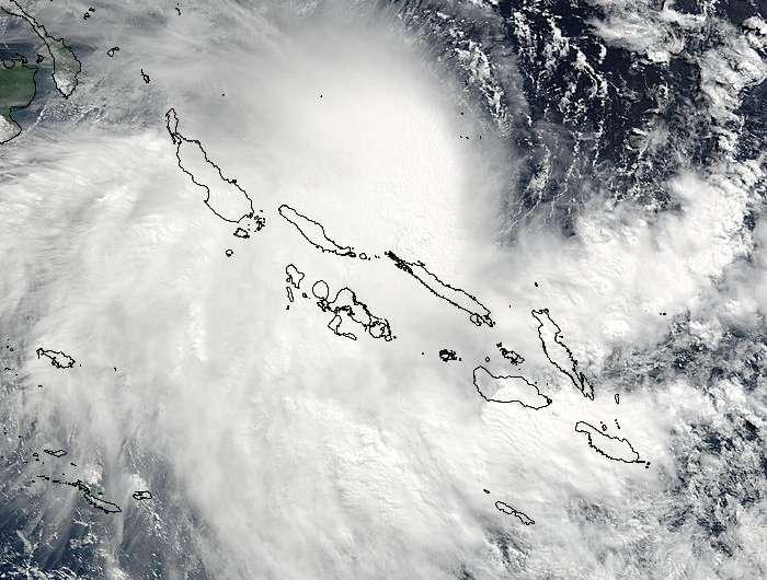 Tropical Cyclone Raquel triggers warnings in Solomon Islands