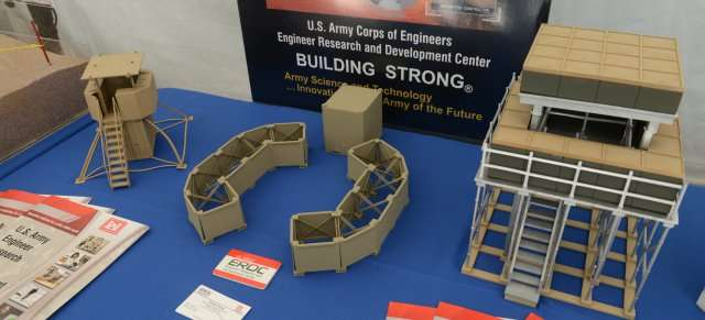 Engineers develop ballistic wallpaper to reinforce temporary shelters