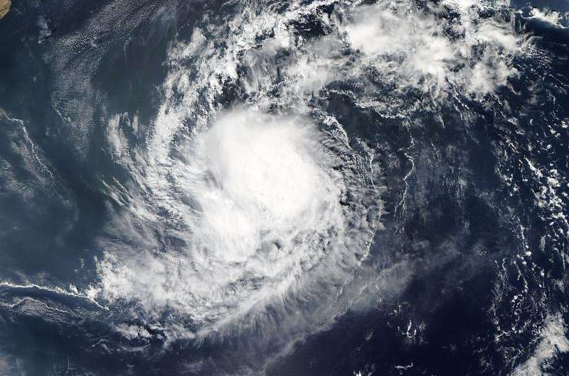 NASA sees Tropical Cyclone Megh strengthening on approach to Socotra Island, Yemen