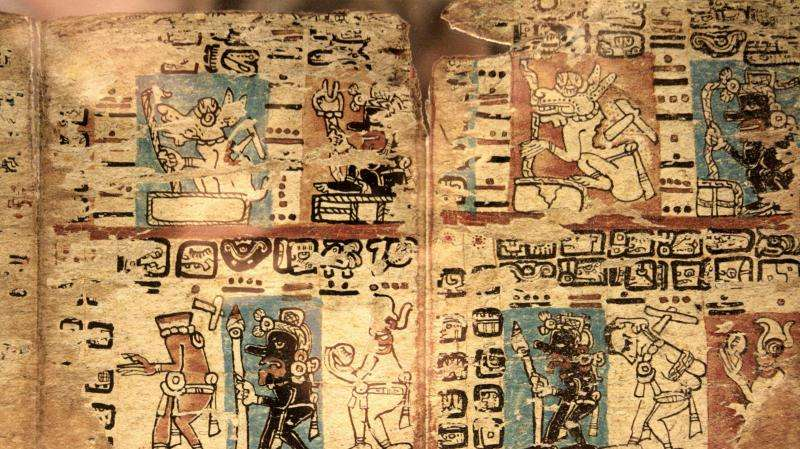 Revealing the mysteries of the Maya script