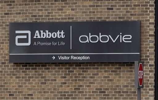 AbbVie beats 2Q profit forecasts, but sales fall short
