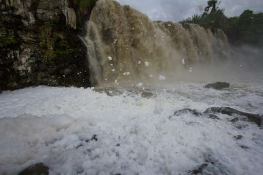 Activists say Mexico's Santiago River, among the dirtiest in Latin America, is making people sick.