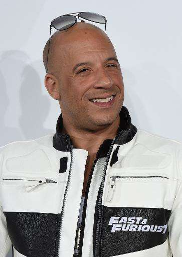 Actor Vin Diesel, pictured here at the premiere of 'Furious 7' in Hollywood, California on April 1, 2015, has 92 million fans on