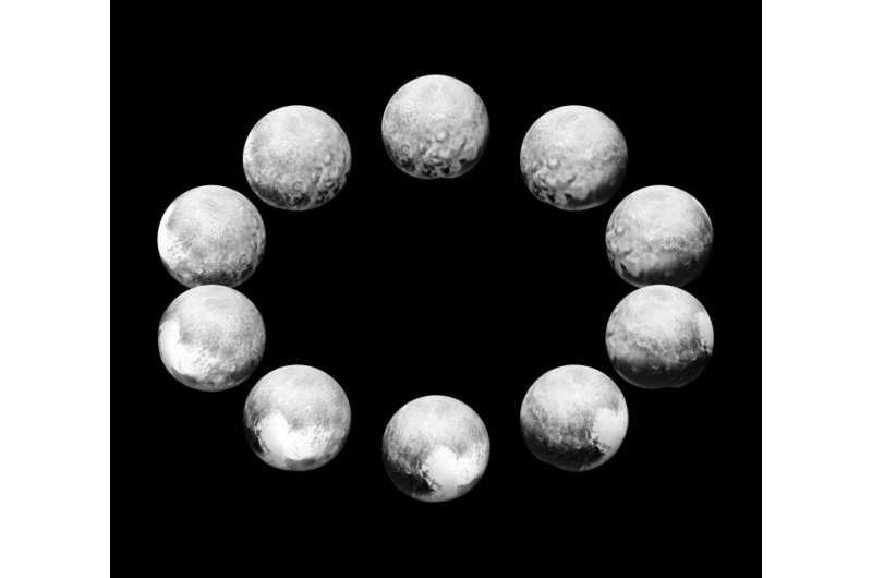 A Day on Pluto, a Day on Charon