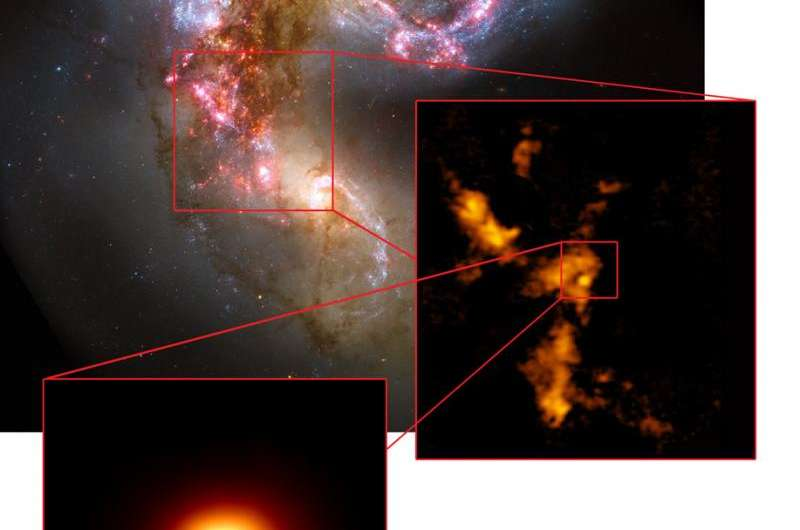 ALMA discovers proto super star cluster -- a cosmic 'dinosaur egg' about to hatch