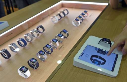 Although Apple has not disclosed sales of the smartwatch which went on sale earlier this year, IDC estimated the tech giant sold