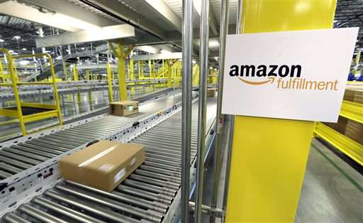 Amazon 3Q results up on strong sales, cloud computing growth