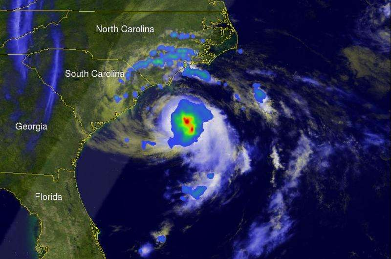 Ana becomes first 2015 Atlantic tropical storm and weakens ashore