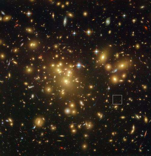 An old-looking galaxy in a young universe