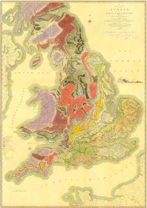 Archivists unearth rare first edition of 'The Map that Changed the World'
