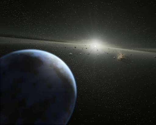 """Asteroids are chunks of rock from """"failed"""" planets, which never managed to coalesce into full-sized planets"""
