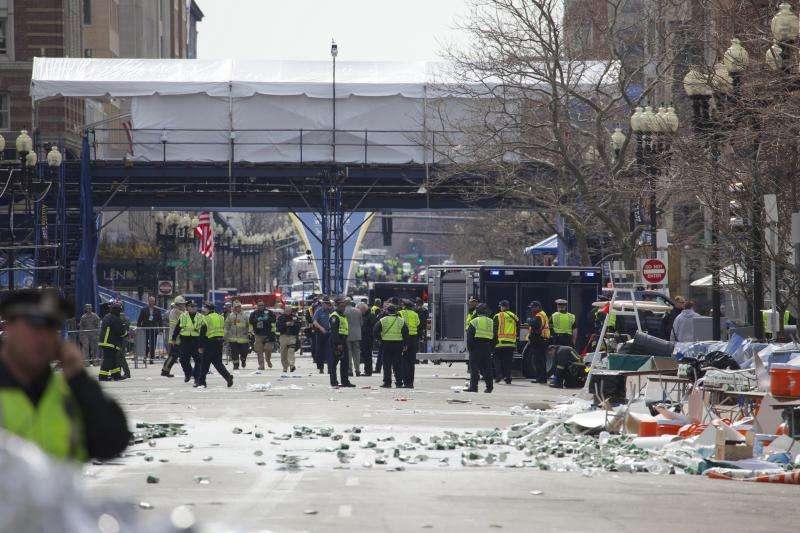 A study of the Boston Marathon bombing