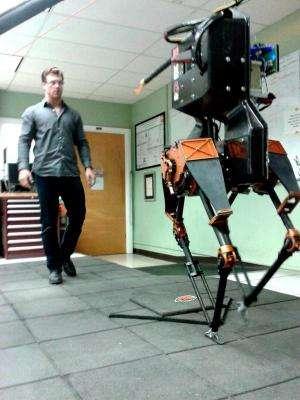 ATRIAS prepares for live demo at robotics challenge