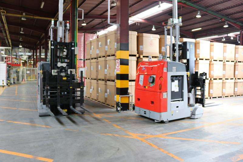 Automating logistics for the factory of the future