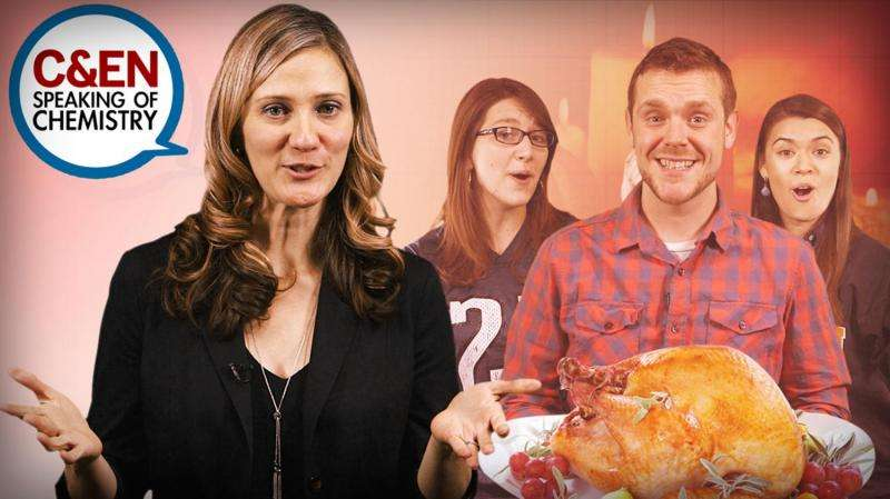 A very happy Speaking of Chemistry Thanksgiving (video)