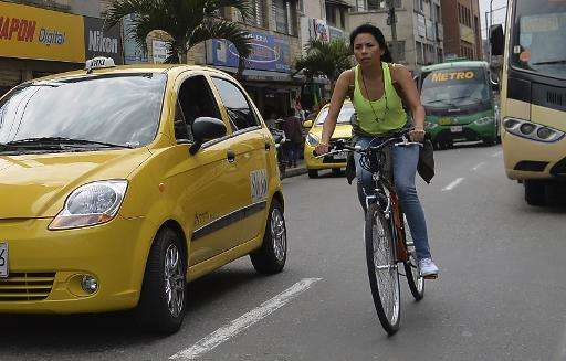 Bogota-based startup Biko is out to make bicycling pay off for riders in traffic-choked cities around the world