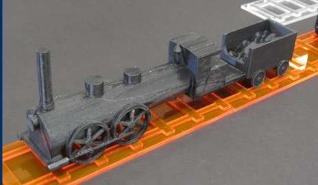 Bringing a literary train to life with a 3D printer