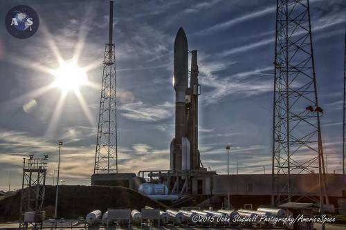 Busy year of 13 launches by ULA in 2015 begins with blastoffs for the navy and NASA