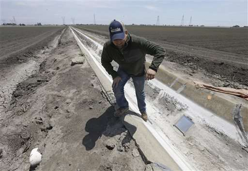 California water cuts move to those with century-old rights